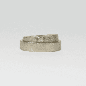 Unique Love wedding rings